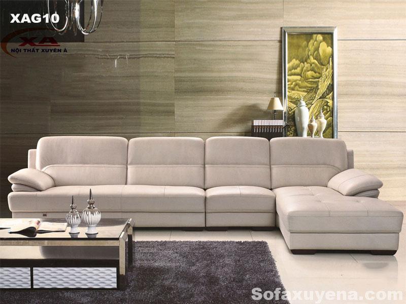 Bộ ghế sofa phòng khách đẹp XAG10 tại Nội thất Xuyên Á