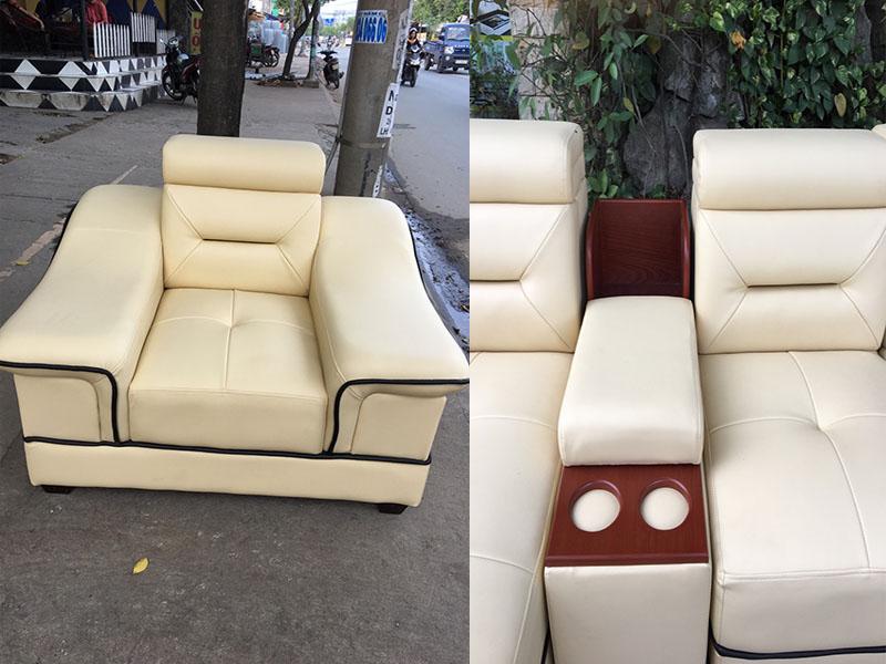 Ghế sofa cao cấp XAG83 - Sản phẩm thực tế..