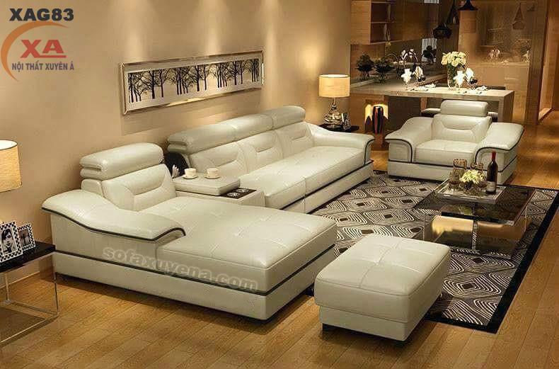 Ghế sofa cao cấp XAG83 tại Sofa Xuyên Á