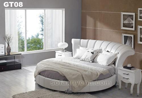 Giường tròn GT08 tại Nội thất Xuyên Á
