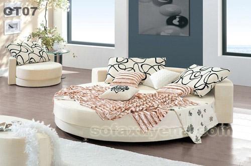 Giường tròn giá rẻ GT07 tại Nội thất Xuyên Á