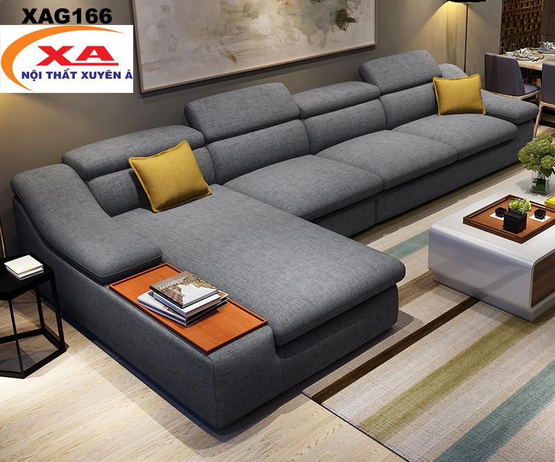 Sofa nỉ cao cấp XAG166 tại Sofa Xuyên Á