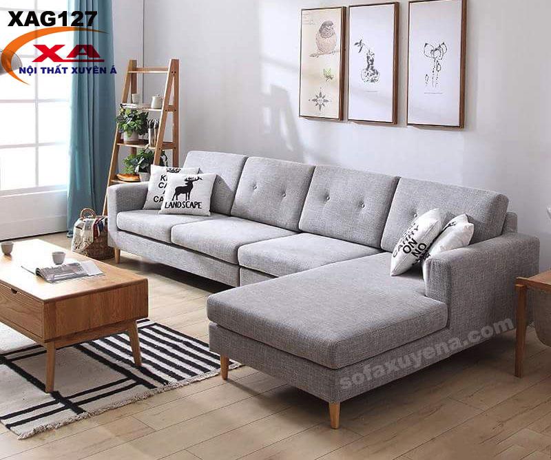 Sofa vải đẹp XAG127 tại Nội Thất Xuyên Á