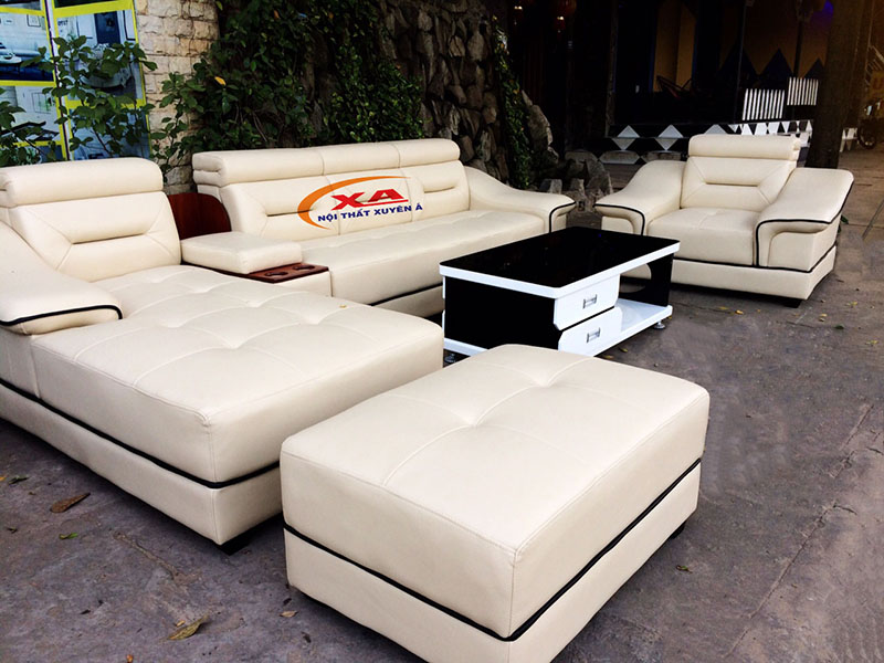 Ghế sofa cao cấp XAG83 - Sản phẩm thực tế