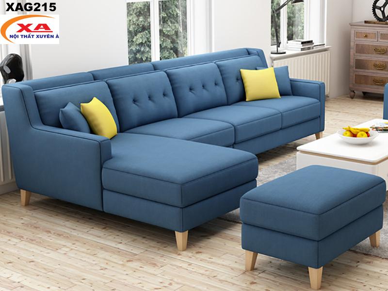 Sofa góc đẹp XAG215 tại Nội thất Xuyên Á