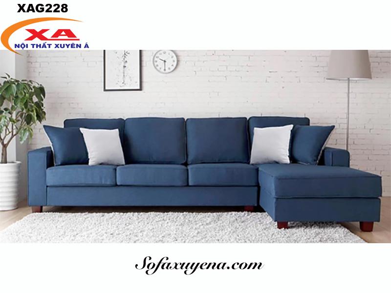 Mẫu sofa vải XAG228 tại Sofa Xuyên Á