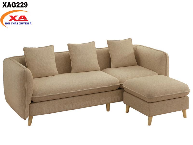 Sofa vải giá rẻ XAG229 tại Nội thất Xuyên Á