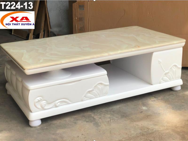 Bàn sofa mặt đá đẹp T224-13 tại Sofa Xuyên Á