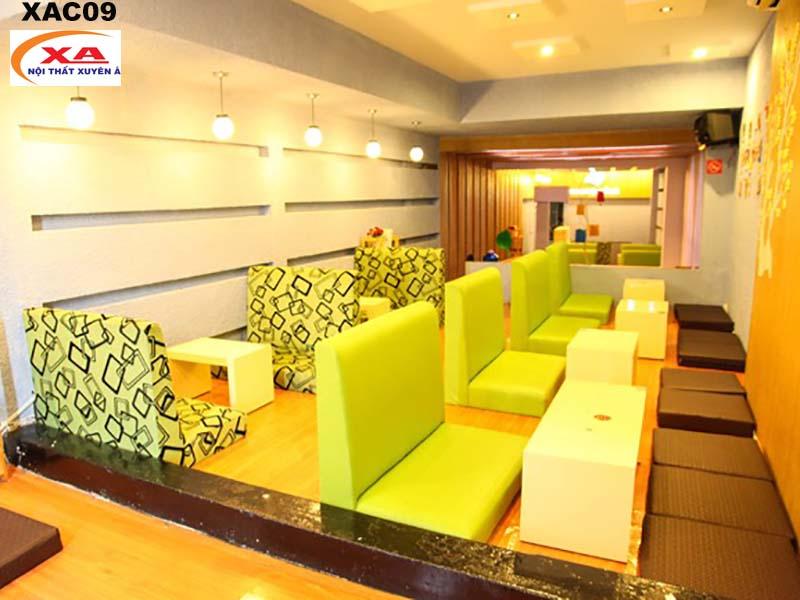 Ghế sofa cafe bệt XAC09 tại Sofa Xuyên Á