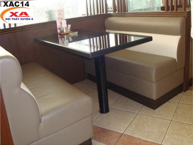 Ghế sofa cafe giá rẻ XAC14 tại Sofa Xuyên Á