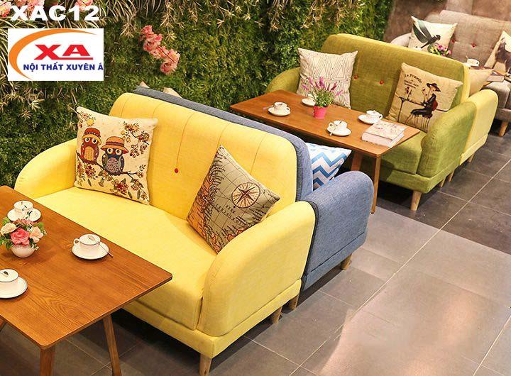 Sofa cafe cao cấp XAC12 tại Sofa Xuyên Á