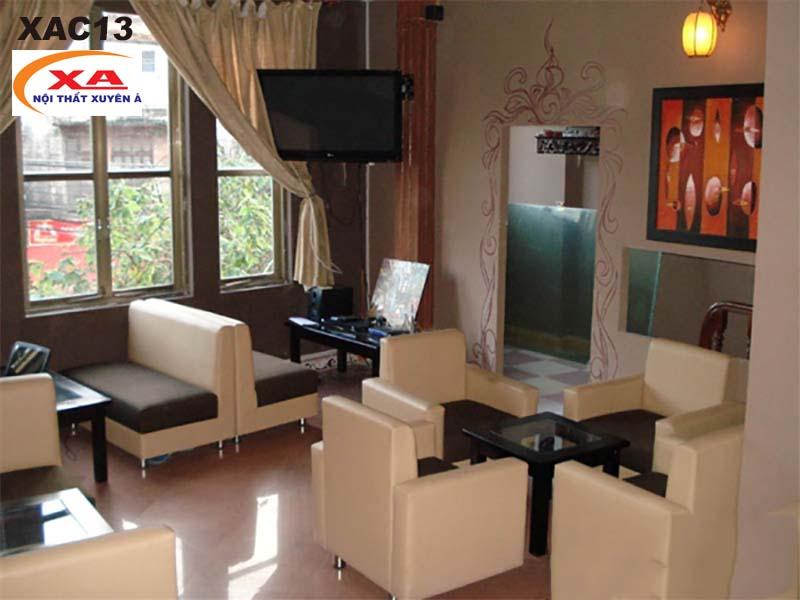 Sofa cafe gia rẻ XAC13 tại Sofa Xuyên Á