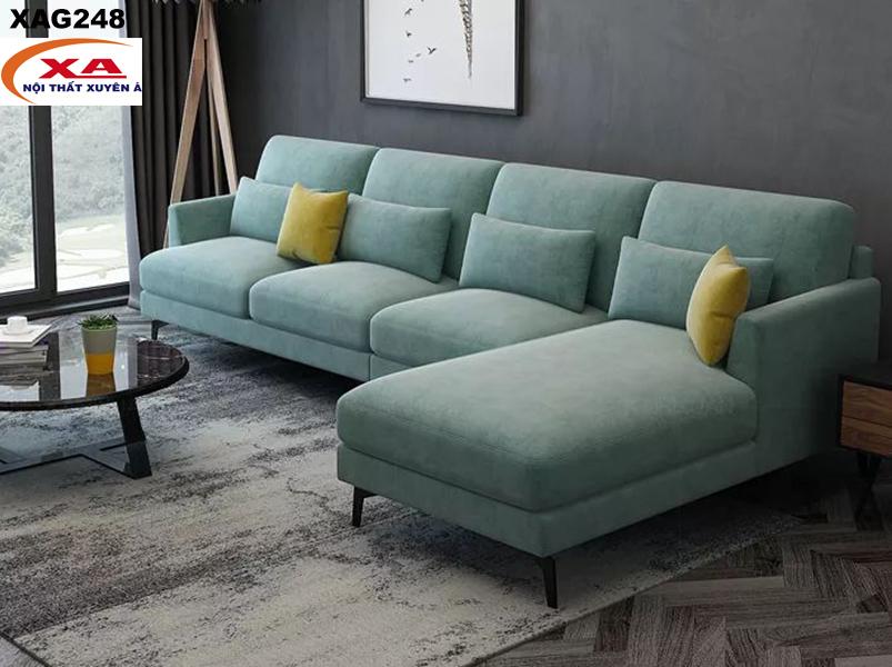 Ghế sofa vải nỉ XAG248 tại Sofa Xuyên Á