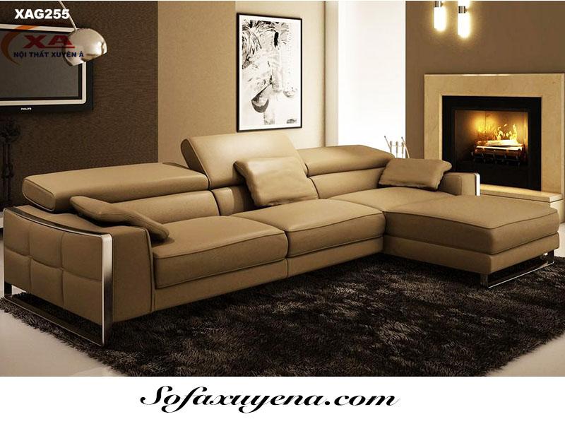 Sofa da hiện đại XAG255 tại Nội thất Xuyên Á