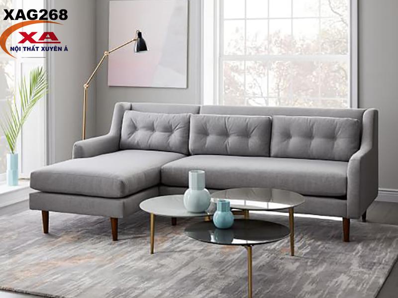 Bộ ghế sofa vải XAG268 tại Nội thất Xuyên Á