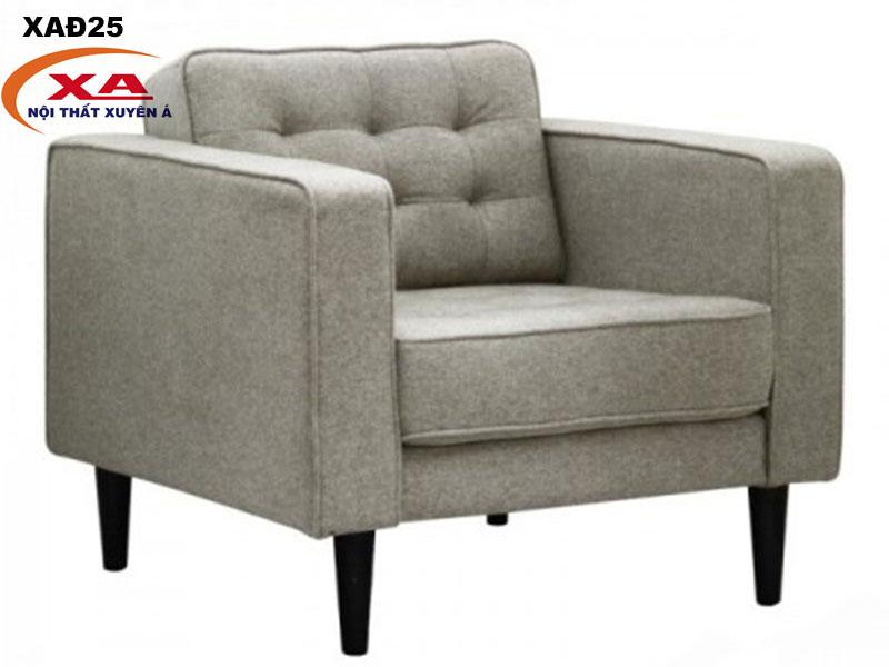 Ghế sofa đơn đẹp XAĐ25 tại Nội thất Xuyên Á