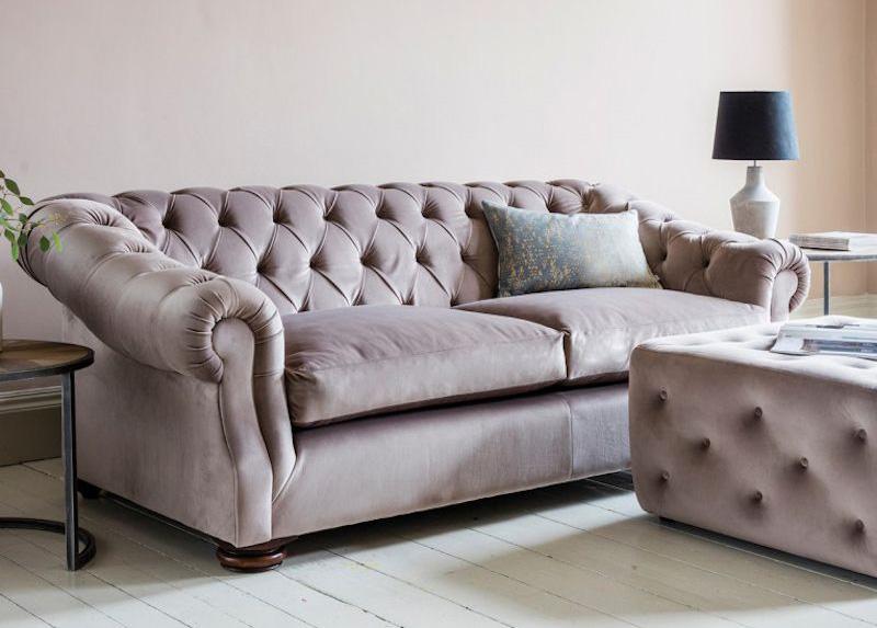 Ghế sofa nhung - Nội thất Xuyên Á