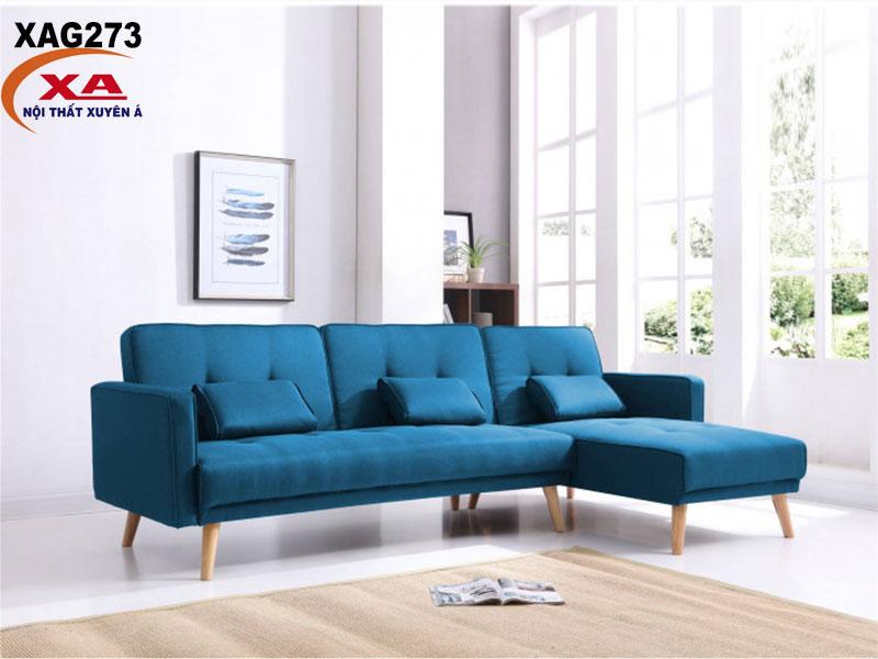 Ghế sofa góc vải XAG273 tại Nội thất Xuyên Á
