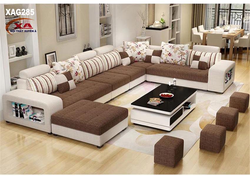 Sofa phòng khách rộng XAG285 tại Nội thất Xuyên Á