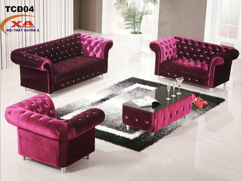Sofa tân cổ điển cao cấp TCĐ04 tại Nội thất Xuyên Á
