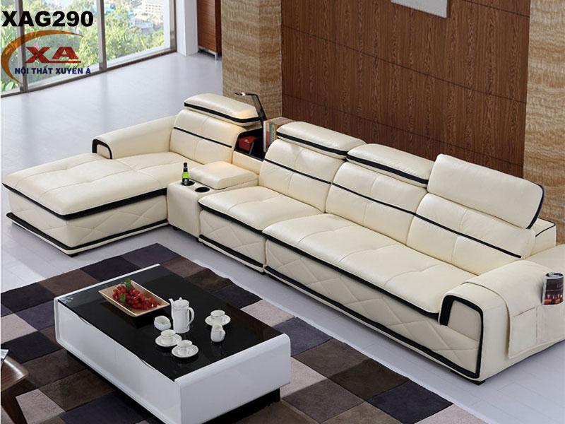 Bộ sofa góc đẹp XAG290 tại Nội thất Xuyên Á