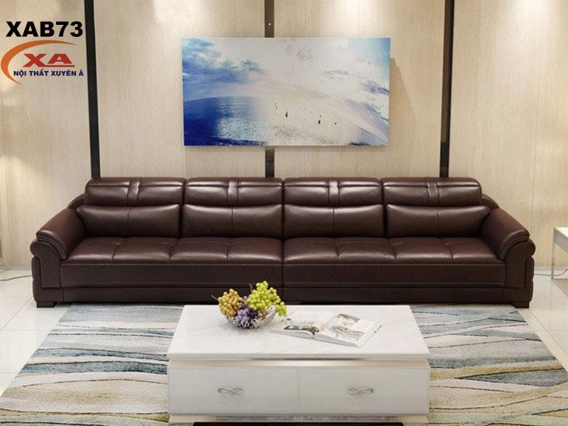 Sofa băng da XAB73 tại Nội thất Xuyên Á