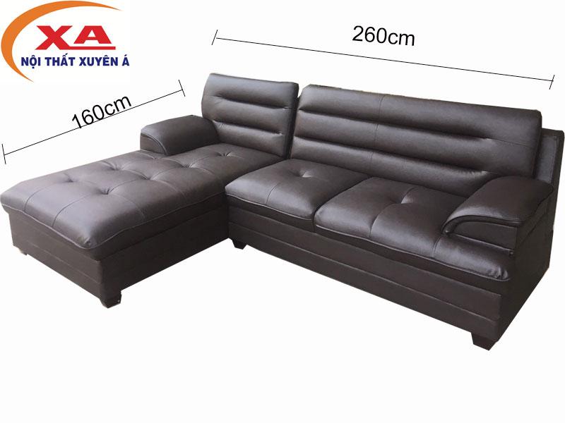 Ghế sofa XAG258 tại Nôi thất Xuyên Á - Địa chỉ bán ghế sofa uy tín tại TPHCM