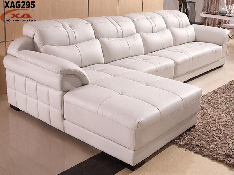Sofa góc da XAG295 tại Nội thất Xuyên Á