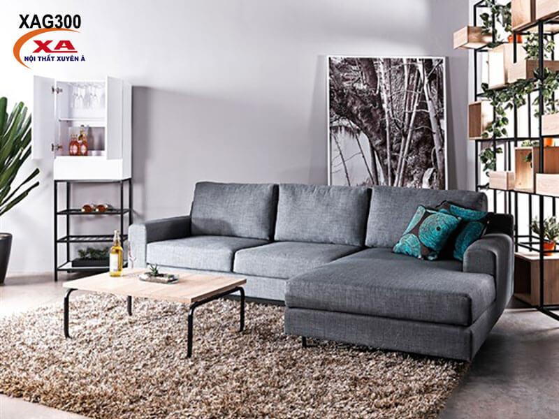 Bộ sofa vải giá rẻ XAG300 tại Nội thất Xuyên Á