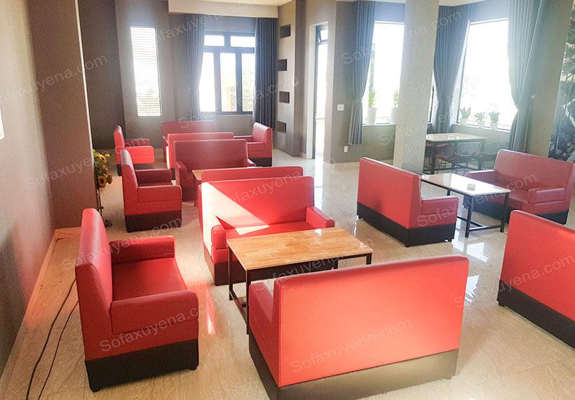 Xưởng đóng ghế sofa cafe TPHCM - Nội thất Xuyên Á