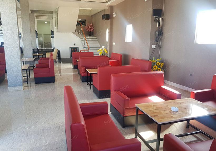 Xưởng đóng ghế sofa cafe giá rẻ - Nội thất Xuyên Á