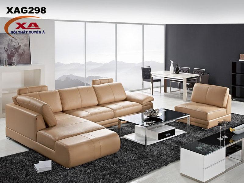 Sofa da công nghiệp XAG298 tại Nội thất Xuyên Á