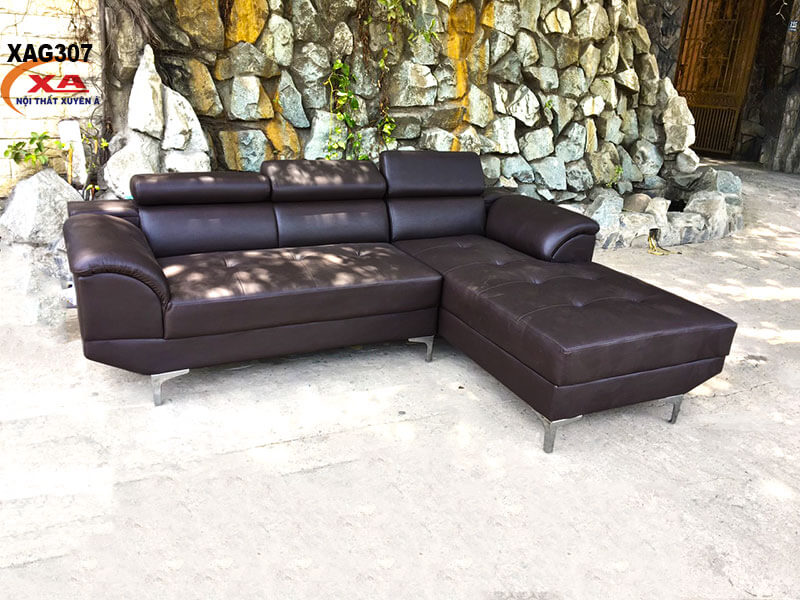 Ghế sofa góc nhỏ XAG307 tại Nội thất Xuyên Á