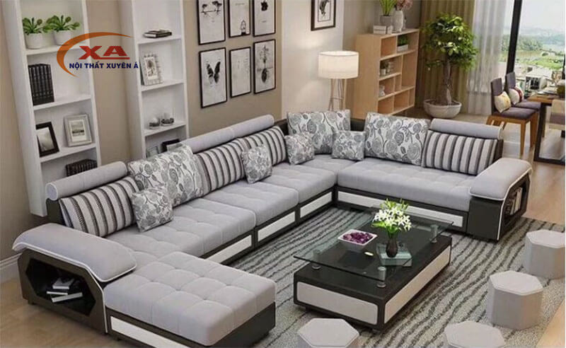 Ghế sofa góc chữ L XAG306 tại Nội thất Xuyên Á