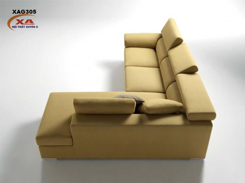 Ghế sofa vải nhập khẩu XAG305 tại Nội thất Xuyên Á