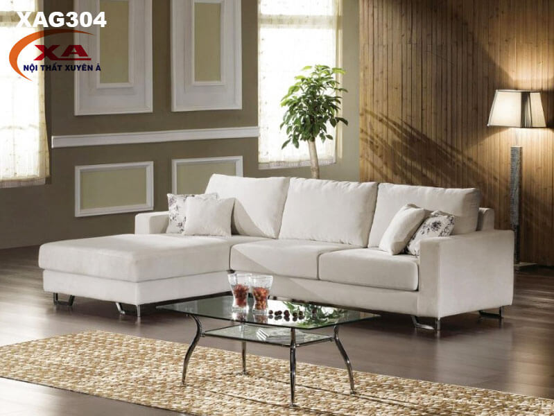 Ghế sofa vải nhung XAG304 tại Nội thất Xuyên Á