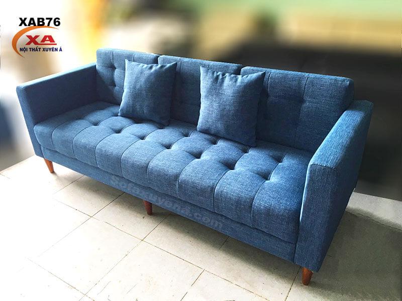 Ghế sofa băng vải XAB76 tại Nội Thất Xuyên Á
