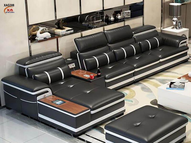 Sofa chữ L XAG308 tại Nội Thất Xuyên Á