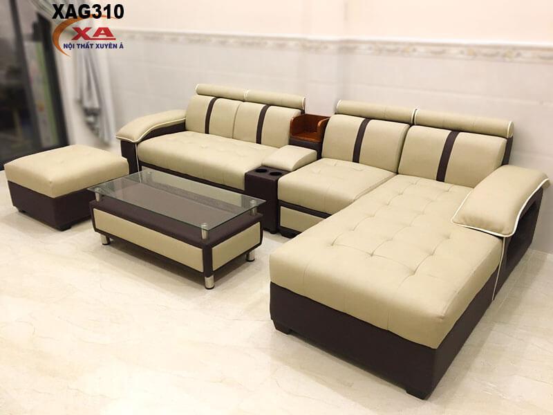 Bàn ghế sofa phòng khách XAG310 tại Nội Thất Xuyên Á