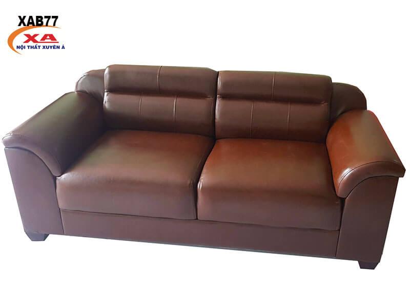 Mẫu sofa băng da XAB77 tại Nội Thất Xuyên Á