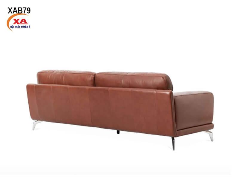 Sofa băng da thật XAB79 tại Nội Thất Xuyên Á