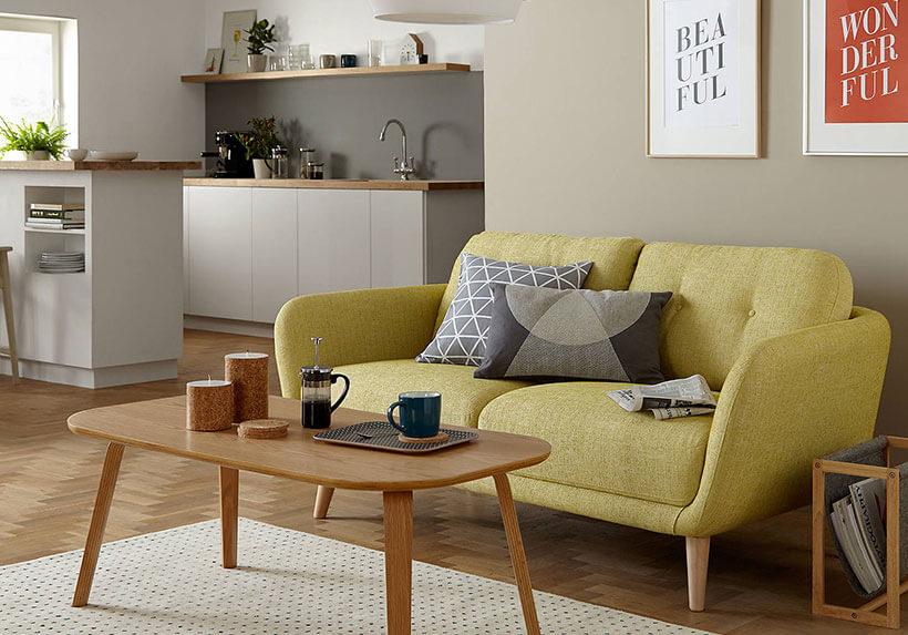 Bộ sofa mini cho phòng khách nhỏ tại Nội Thất Xuyên Á