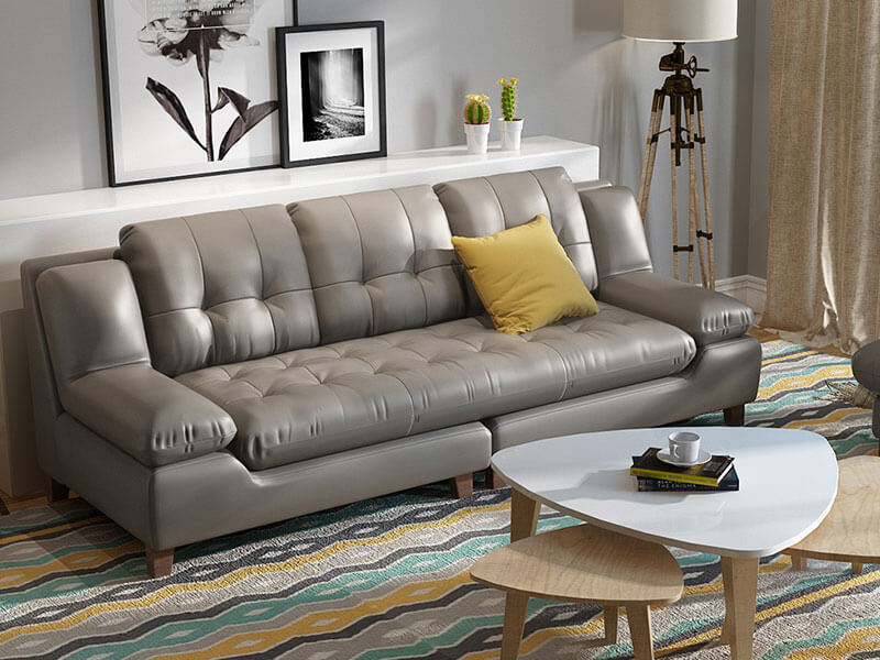 Ghế sofa băng da XAB83 tại Nội Thất Xuyên Á