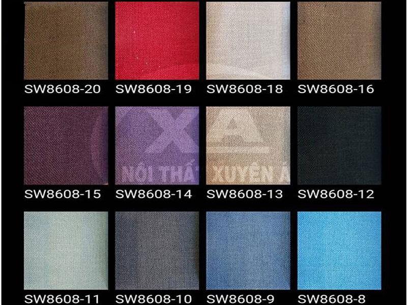 Mẫu vải cho sofa phòng khách XAG317
