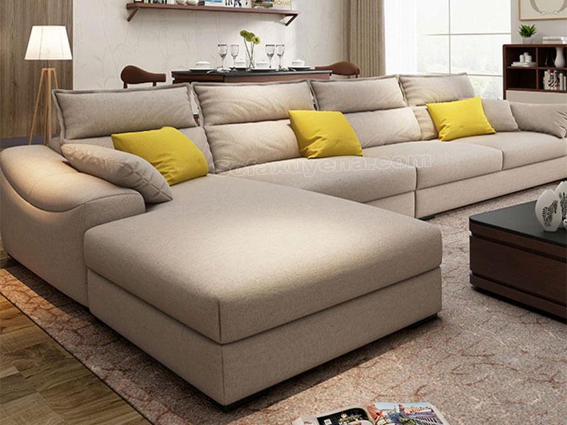 Sofa phòng khách chữ L XAG317 tại Nội Thất Xuyên Á