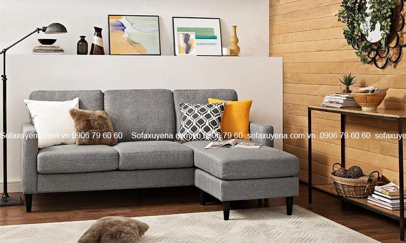 Bàn ghế sofa phòng khách nhỏ giá rẻ tại Nội Thất Xuyên Á