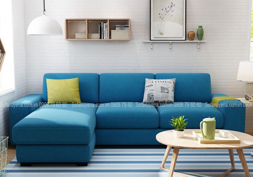 Mẫu Bàn ghế sofa phòng khách nhỏ tại Nội Thất Xuyên Á