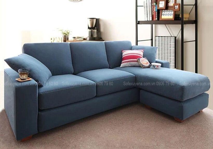 Bàn ghế sofa phòng khách nhỏ tại Nội Thất Xuyên Á
