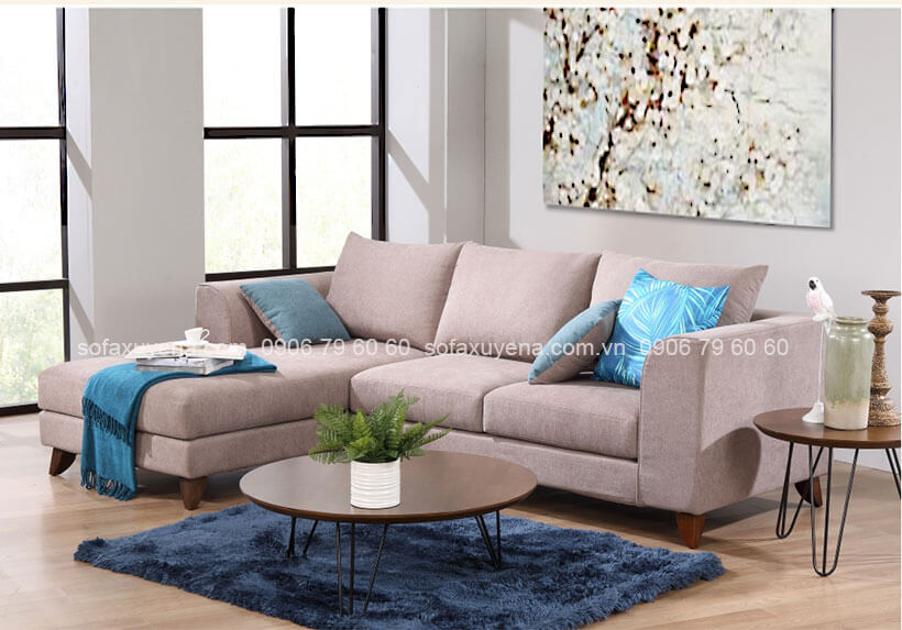Bàn ghế sofa phòng khách nhỏ đẹp tại Nội Thất Xuyên Á