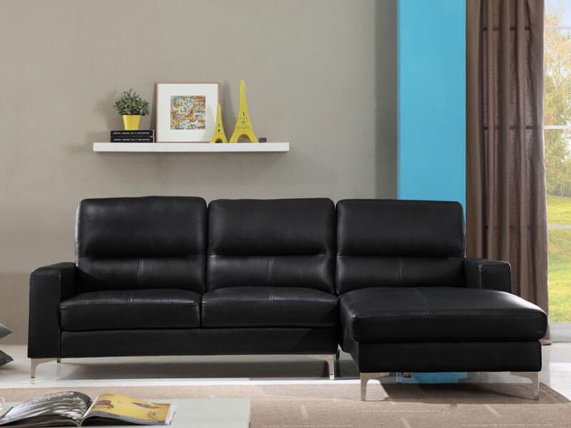 Ghế sofa da nhỏ XAG321 tại Nội thất Xuyên Á